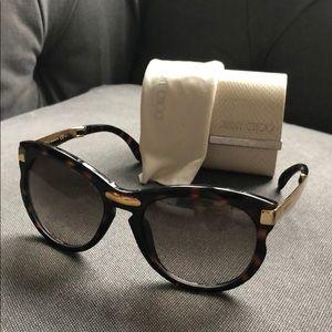 dcb55114bbd Jimmy Choo Accessories - Jimmy choo Lana s foldable sunglasses orig.360